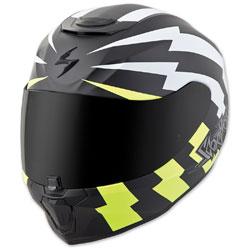 Scorpion EXO EXO-R420 Tracker White/Neon Full Face Helmet