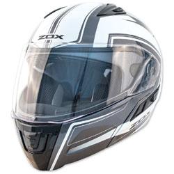 Zox Condor SVS Envoy Silver Modular Helmet