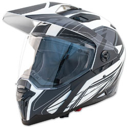 Zox Z-Series Z-DS10 Urbanite Matte White Full Face Helmet