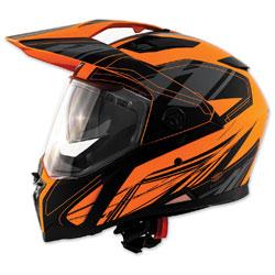 Zox Z-Series Z-DS10 Urbanite Matte Orange Full Face Helmet