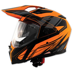Zox Z-Series Z-DS10 Urbanite Matte Orange Full Face Helmet
