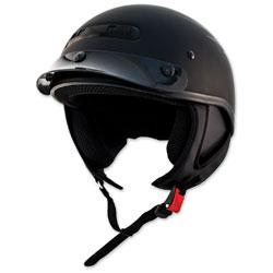 Zox Alto Custom Eagle Matte Silver Half Helmet