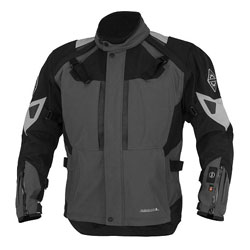Firstgear 37.5 Women's Kilimanjaro Gray/Black Textile Jacket