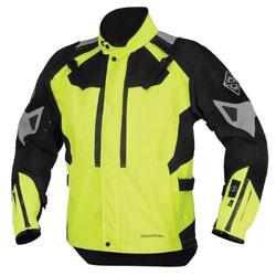 Firstgear 37.5 Women's Kilimanjaro DayGlo/Black Textile Jacket