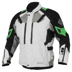Firstgear 37.5 Women's Kilimanjaro White/Black Textile Jacket