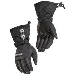 Firstgear Men's TPG Axiom Black Textile Gloves