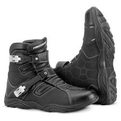 Firstgear Men's Kathmandu Lo Waterproof Black Boots
