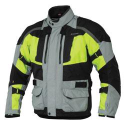 Firstgear Men's Kathmandu Gray/DayGlo Jacket