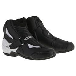 Alpinestars Men's SMX-1 R Black/White Boots