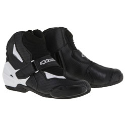 Alpinestars Men's SMX-1 R Vented Black/White Boots