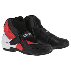 Alpinestars Men's SMX-1 R Vented Black/White/Red Boots