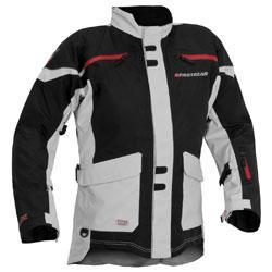 d6a19d0e27 Firstgear Men s TPG Rainier Black Silver Jacket