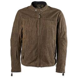 Roland Sands Design Apparel Men's Ronin Perf Waxed Cotton Ranger Jacket