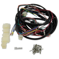 harley davidson sportster wiring harness kits jpcycles com v twin manufacturing builders kit wire harness