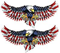 Lethal Threat Eagle Attack Decal