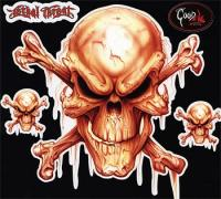 Lethal Threat Mr. Bones Decal Set