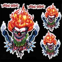 Lethal Threat 'Gun Toting Clown' Decal Set