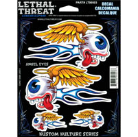 Lethal Threat Angel Eyes Decal