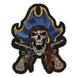 Lethal Threat Pirate Captain Small Patch
