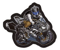 Lethal Threat Sportbike Motorcycle Mini Patch