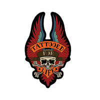 Tattooed for Life Embroidered Patch
