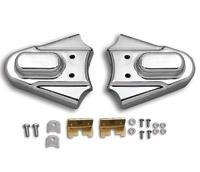 V-Twin Manufacturing Chrome Swingarm Covers