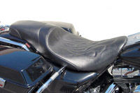 Danny Gray Weekday 2-Up Seat with Flame Stitching