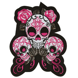 Lethal Threat Sugar Skulls Patch