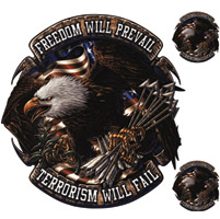 Lethal Threat Freedom Prevail Decal
