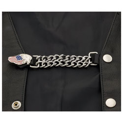 Eagle Leather Eagle and Flag Vest Extender