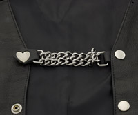 Eagle Leather Heart Vest Extender