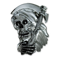 American Cycle Accessories Grim Reaper Gas Cap Cover