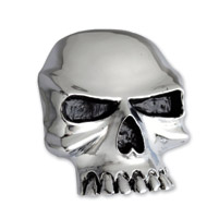 American Cycle Accessories Skull Gas Cap Cover