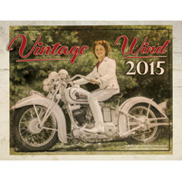 National Motorcycle Museum 2015 Vintage Wind Calendar