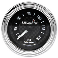 Legend LED Backlit Air Gauge - Diamond Cut