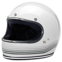 Biltwell Inc. Gringo Spectrum Gloss White Full Face Helmet