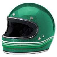 Biltwell Inc. Gringo Spectrum Gang Green Full Face Helmet