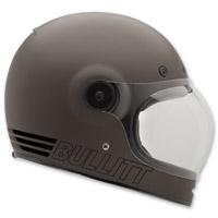 Bell Bullitt Retro Metallic Titanium Full Face Helmet