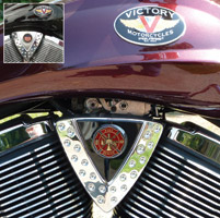 Motordog69 Cheese Wedge Coin Mount with Fire Rescue Coin