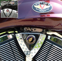 Motordog69 Cheese Wedge Coin Mount with Operation Enduring Freedom Coin