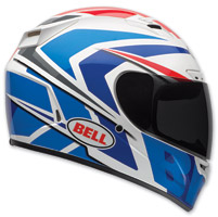 Bell Vortex Grinder Blue Full Face Helmet