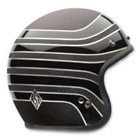 Bell Custom 500 RSD Talladega Carbon Open Face Helmet