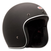Bell Custom 500 Matte Carbon Open Face Helmet