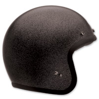 Bell Custom 500 Black Flake Open Face Helmet