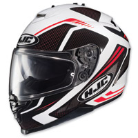 HJC IS-17 Spark Black/White/Red Full Face Helmet
