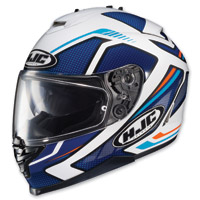HJC IS-17 Spark Blue/White Full Face Helmet