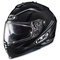 HJC IS-17 Spark Black Full Face Helmet