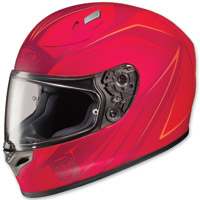 HJC FG-17 Thrust Red/Pink Full Face Helmet