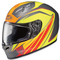 HJC FG-17 Thrust Yellow/Orange/Gray Full Face Helmet