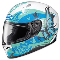 HJC FG-17 Flutura Blue/White Full Face Helmet